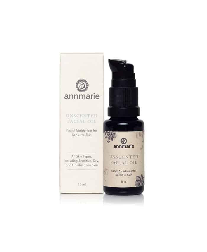 Facial oil for sensitive skin